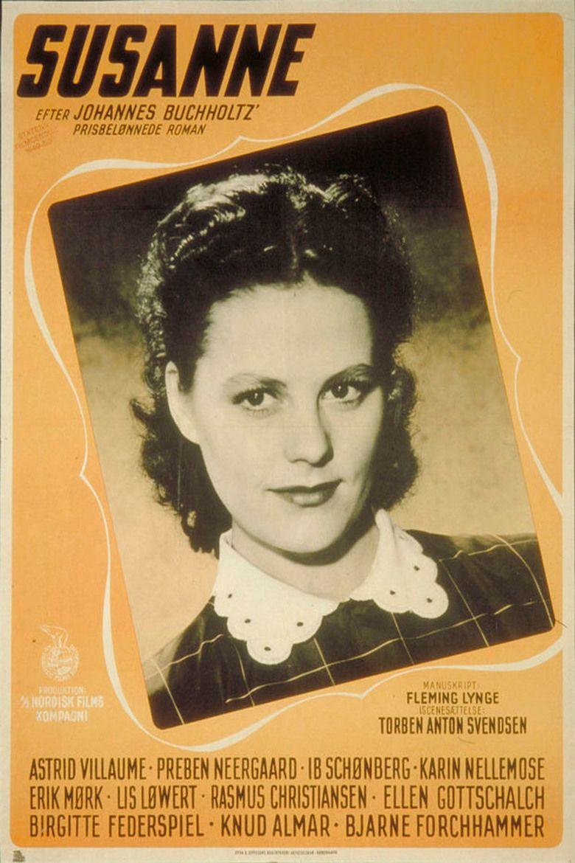 Susanne (1950 film) movie poster