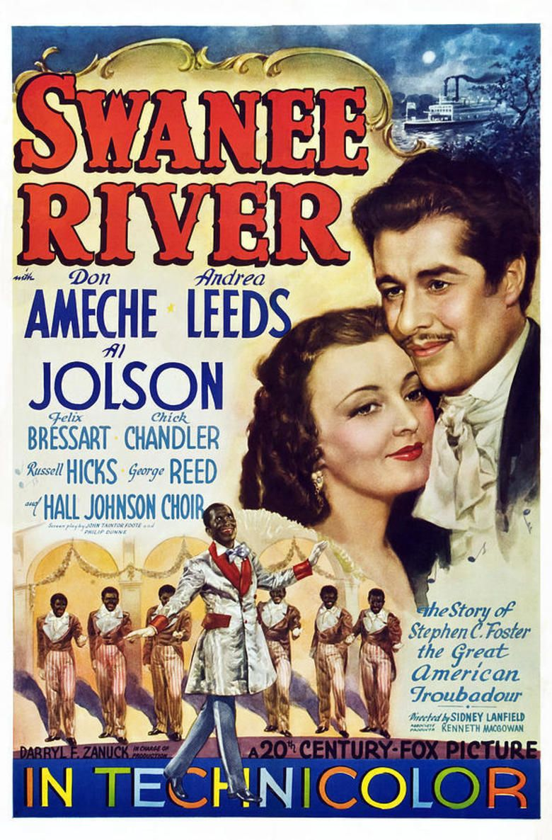 Swanee River (film) movie poster