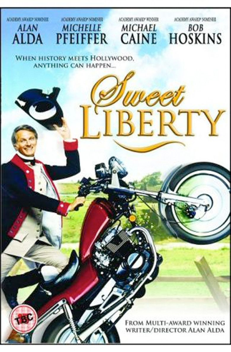 Sweet Liberty movie poster