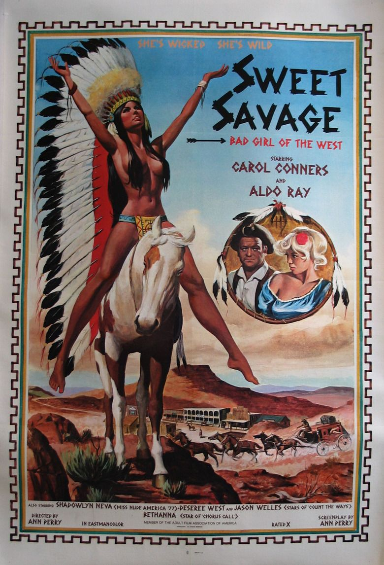 Sweet Savage (1979 film) movie poster