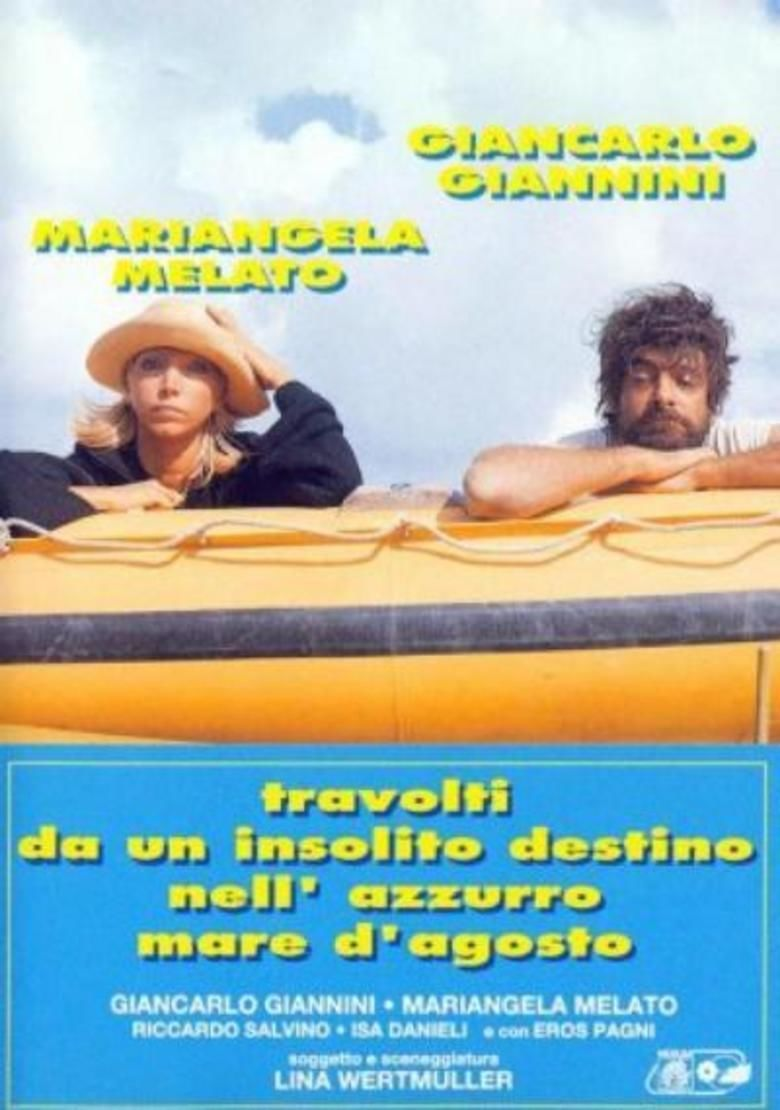 Swept Away (1974 film) movie poster
