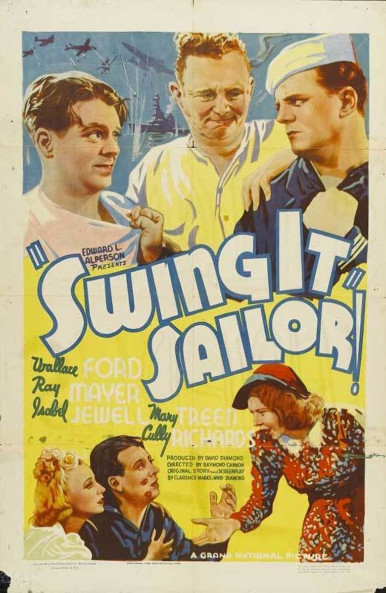 Swing It, Sailor! movie poster
