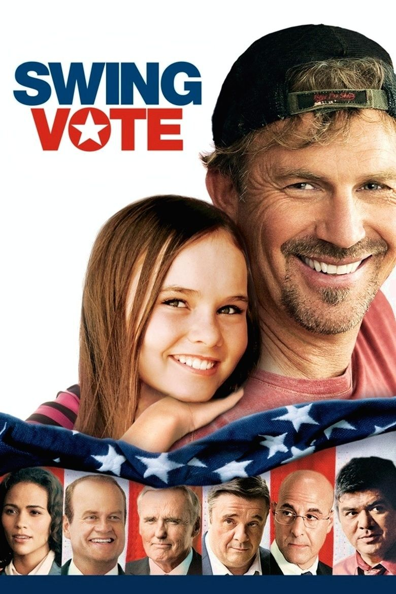 Swing Vote (2008 film) movie poster