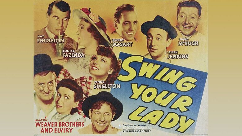 Swing Your Lady movie scenes