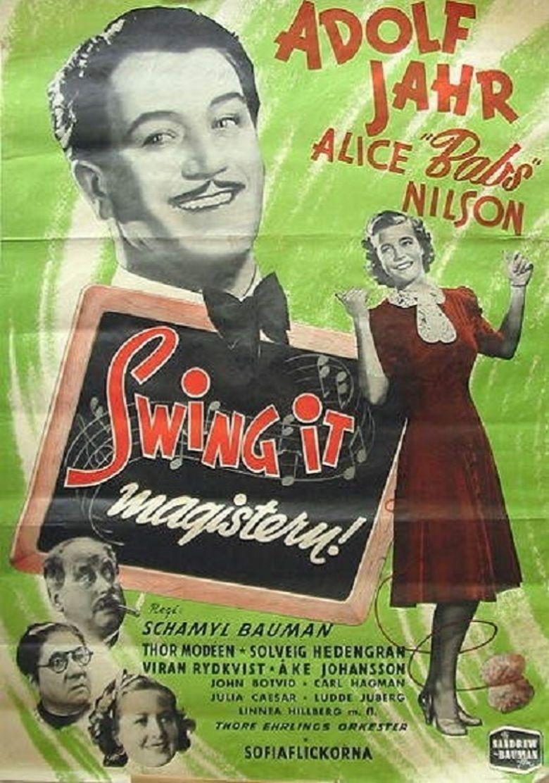 Swing it, magistern! movie poster