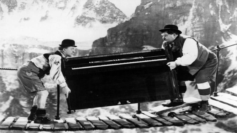 Swiss Miss (film) movie scenes
