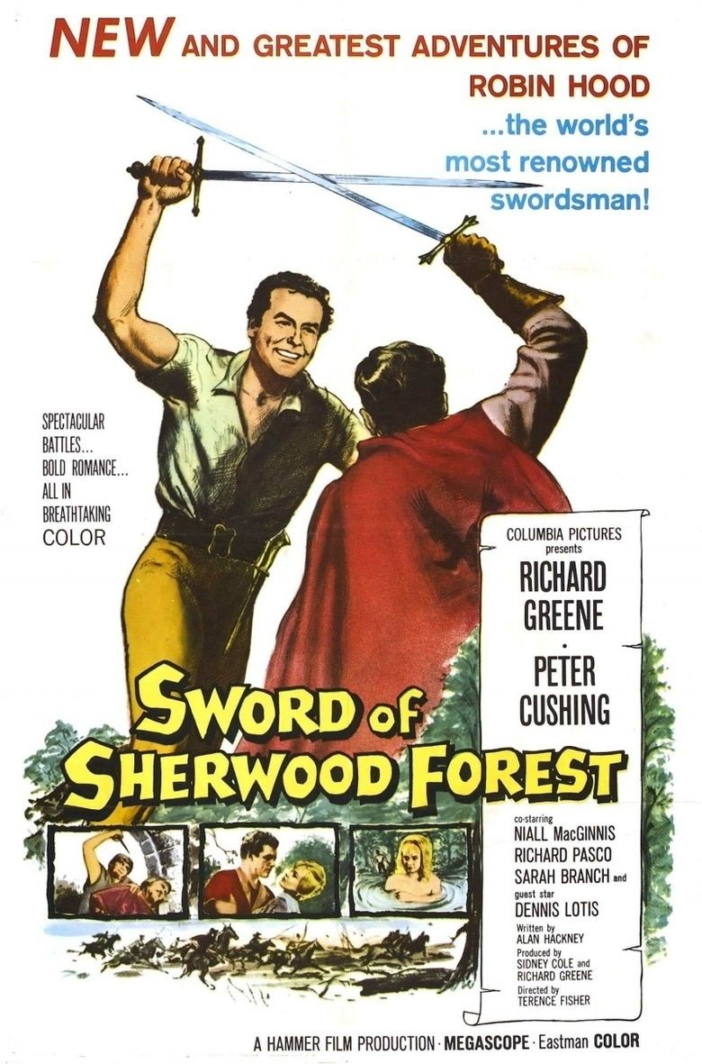 Sword of Sherwood Forest movie poster