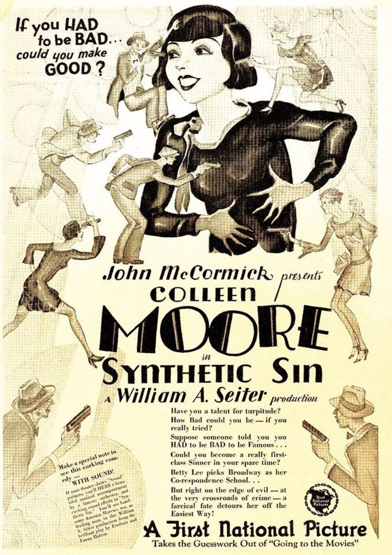 Synthetic Sin movie poster