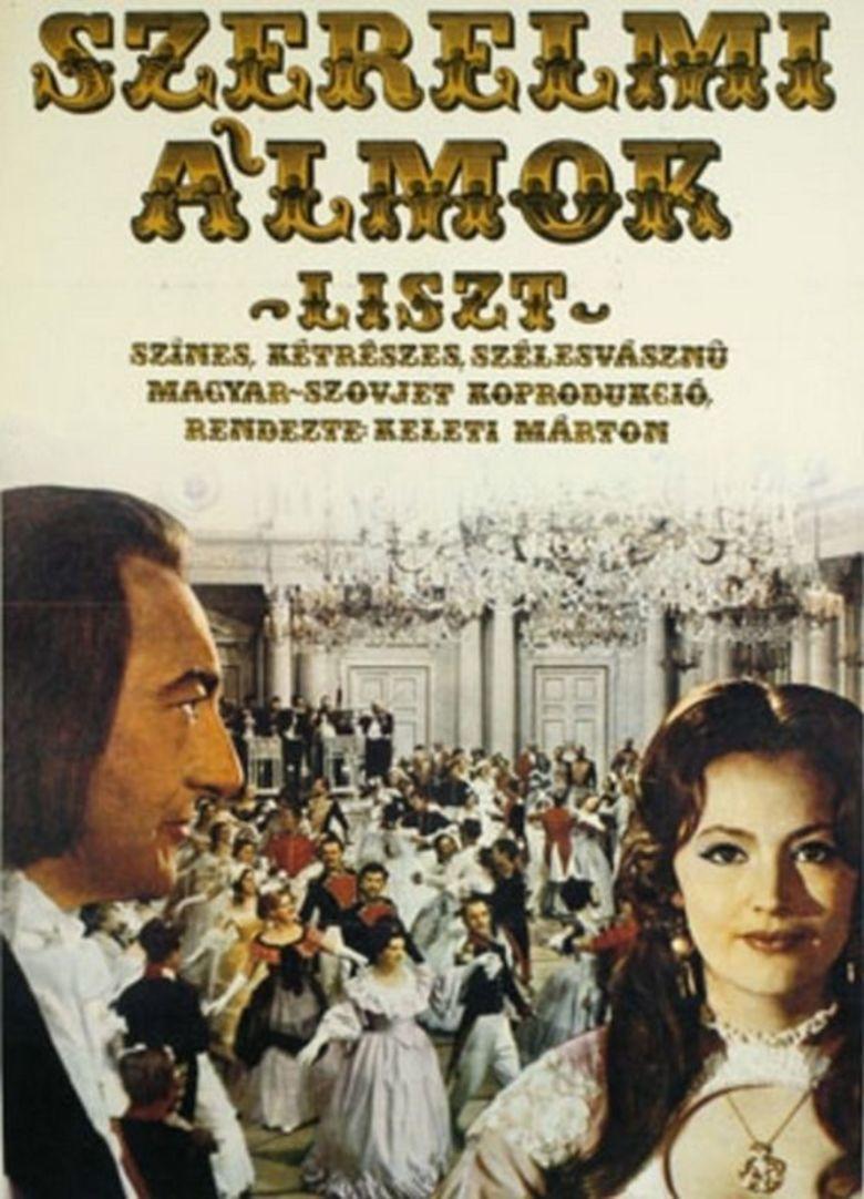 Szerelmi almok Liszt movie poster