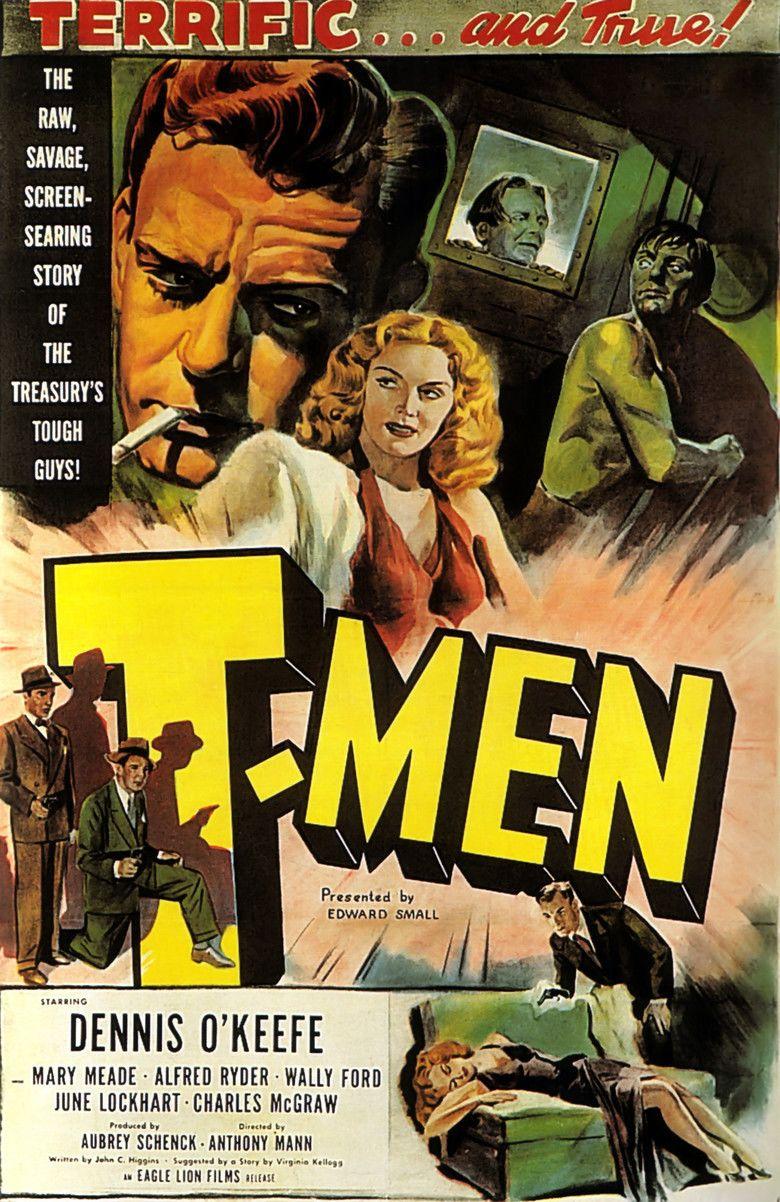 T Men movie poster