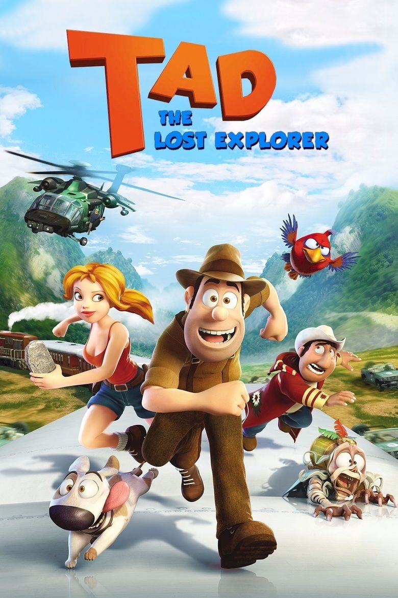 Tad, The Lost Explorer movie poster