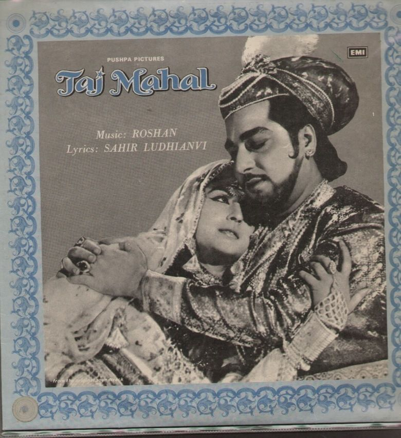 Taj Mahal (1963 film) movie poster