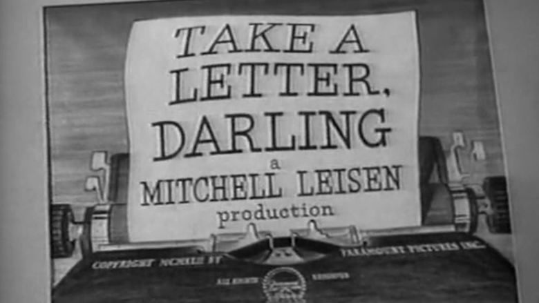 Take a Letter, Darling movie scenes