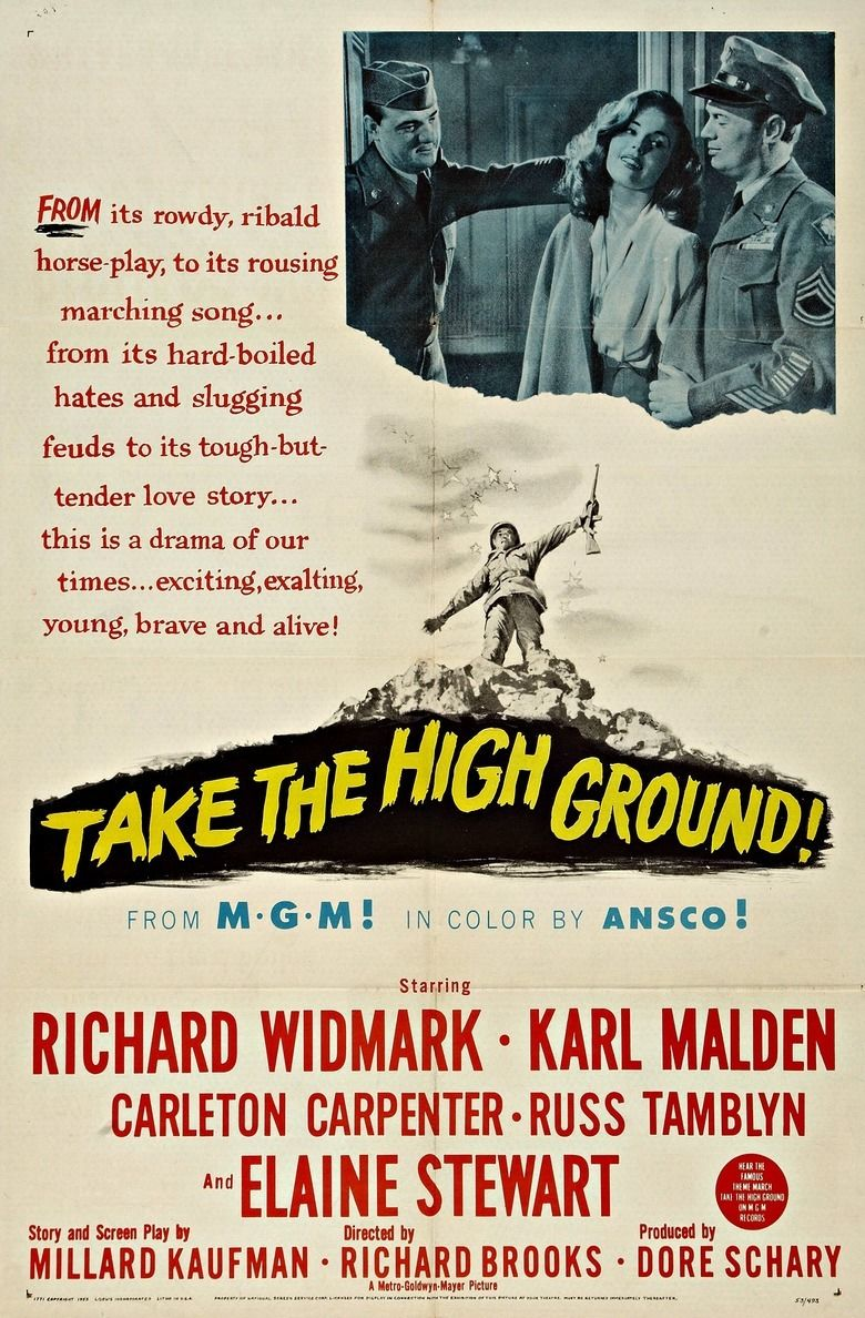Take the High Ground! movie poster