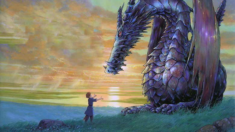 Tales from Earthsea (film) movie scenes