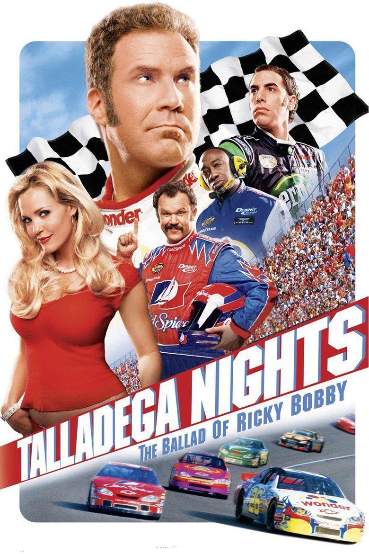 Talladega Nights: The Ballad of Ricky Bobby movie poster