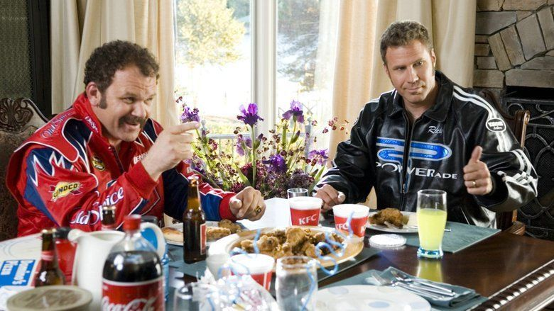 Talladega Nights: The Ballad of Ricky Bobby movie scenes