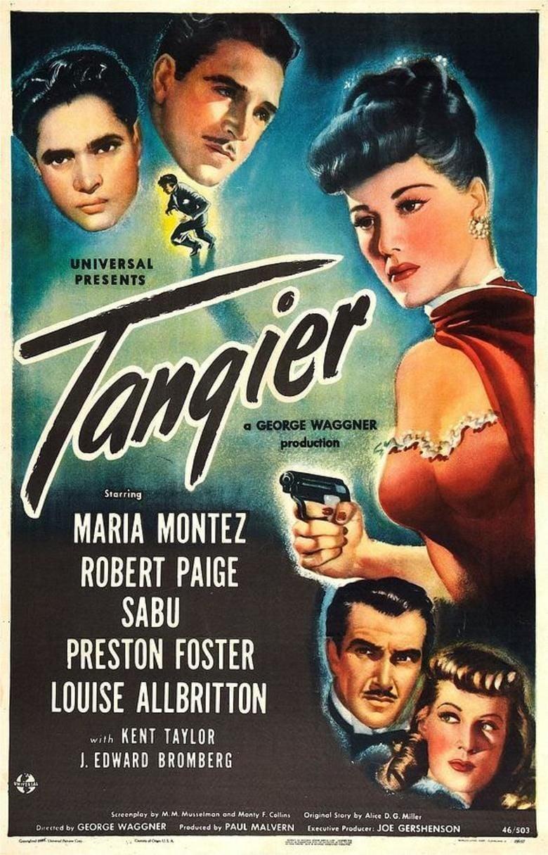 Tangier (1946 film) movie poster