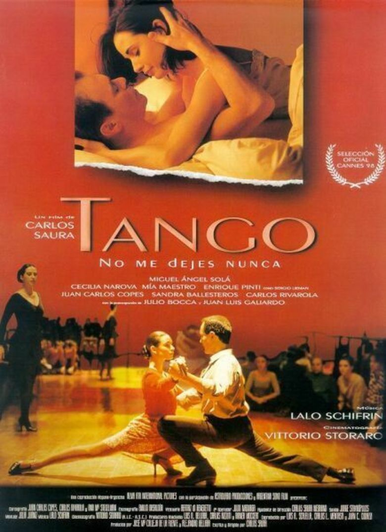 Tango (1998 film) movie poster
