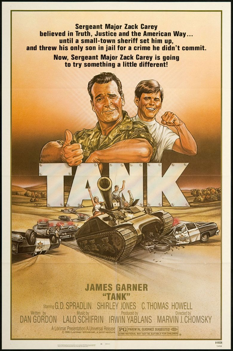 Tank (film) movie poster