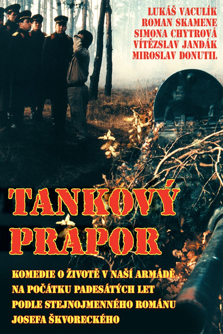 Tankovy prapor (film) movie poster