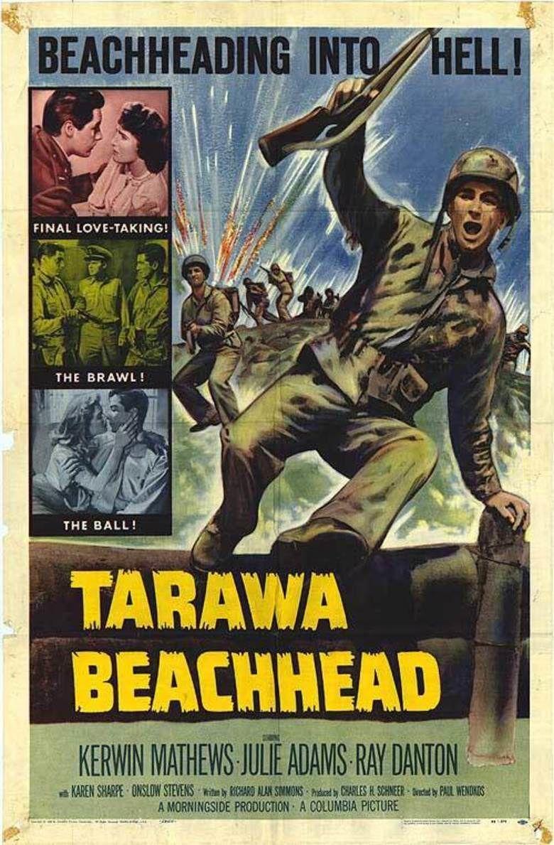 Tarawa Beachhead movie poster