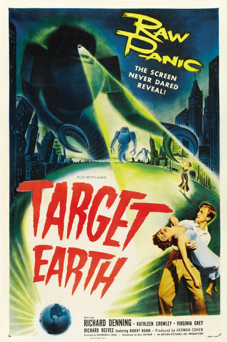 Target Earth (film) movie poster