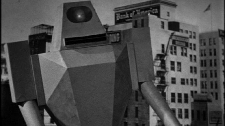 Target Earth (film) movie scenes