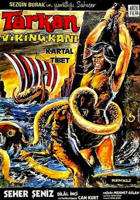 Tarkan Versus the Vikings movie poster