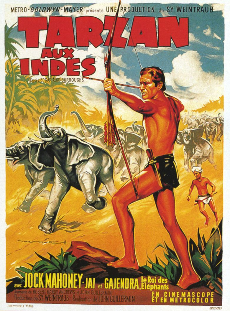 Tarzan Goes to India movie poster