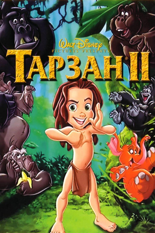 Tarzan II movie poster