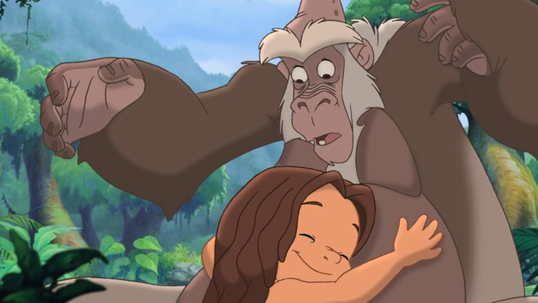 Tarzan II movie scenes