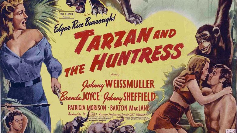 Tarzan and the Huntress movie scenes
