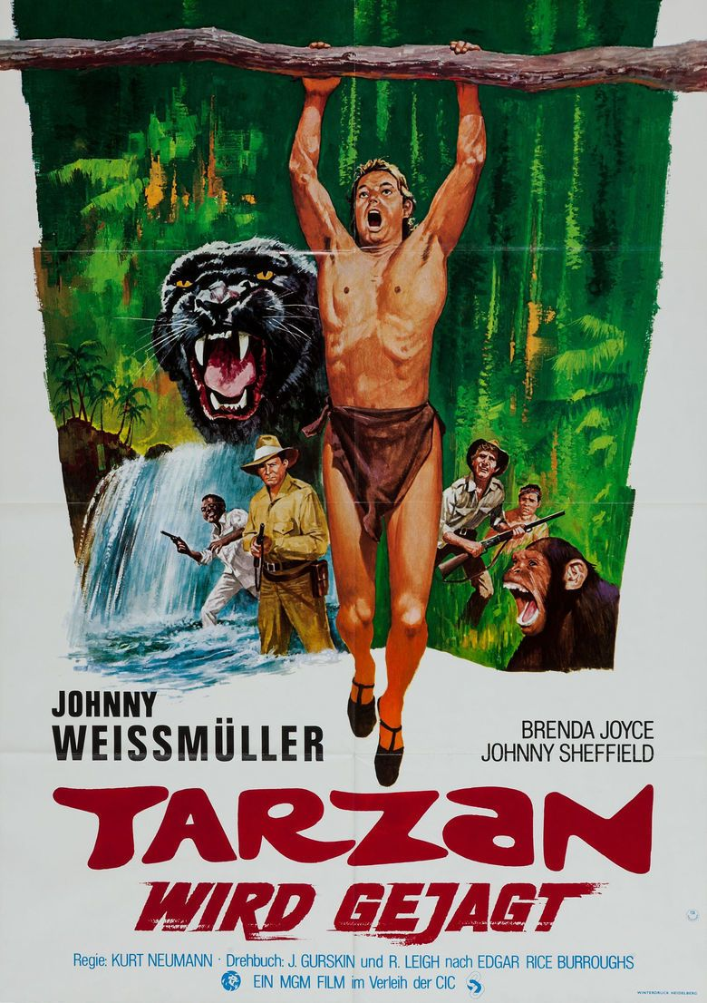 Tarzan and the Huntress movie poster