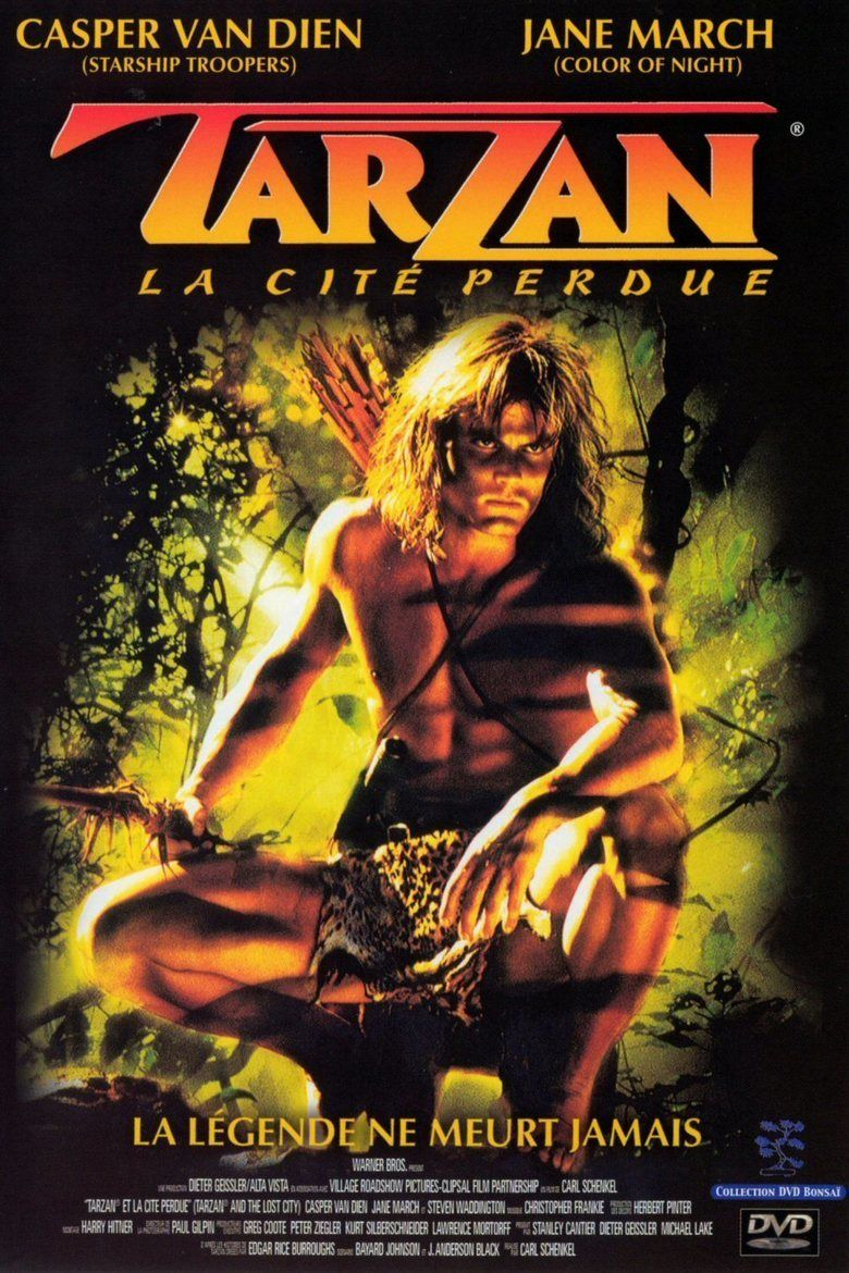 Tarzan and the Lost City (film) movie poster