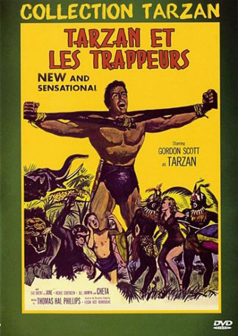 Tarzan and the Trappers movie poster