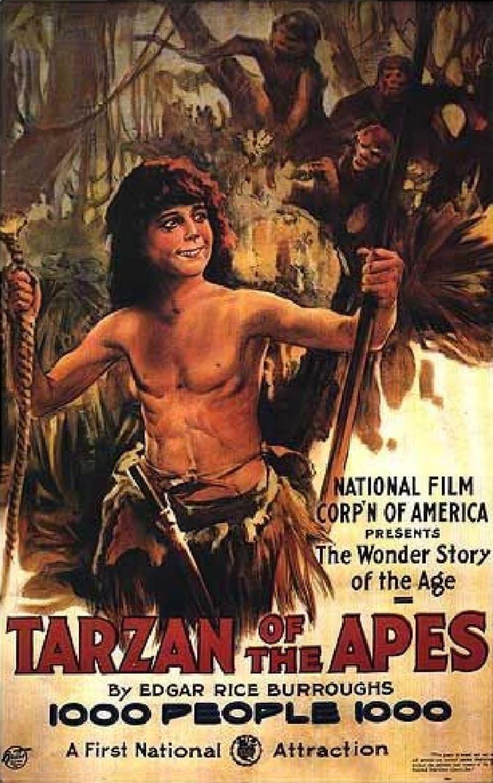 Tarzan of the Apes (1918 film) movie poster