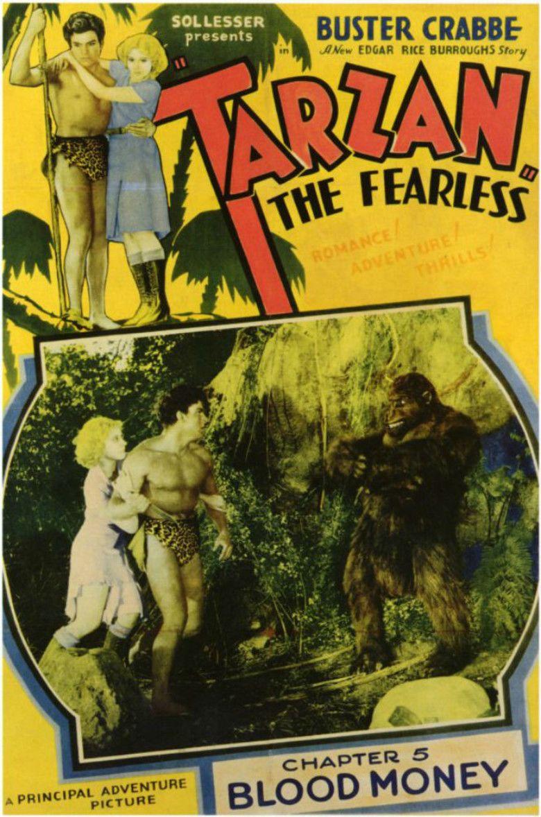 Tarzan the Fearless movie poster