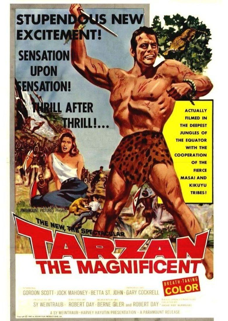 Tarzan the Magnificent movie poster