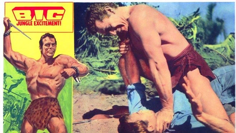 Tarzan the Magnificent movie scenes