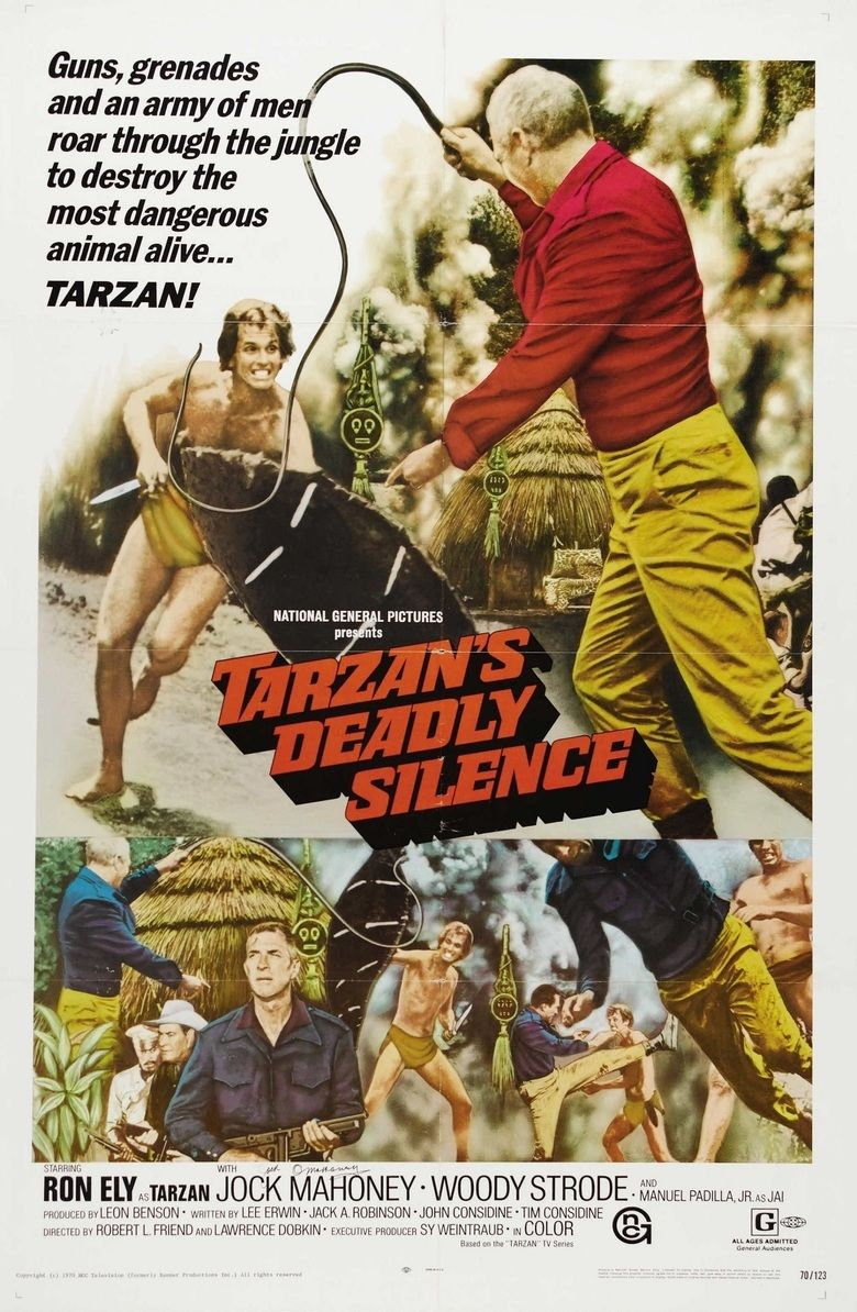 Tarzans Deadly Silence movie poster