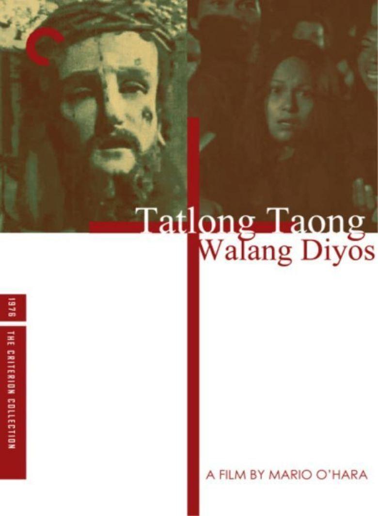 Tatlong taong walang Diyos movie poster