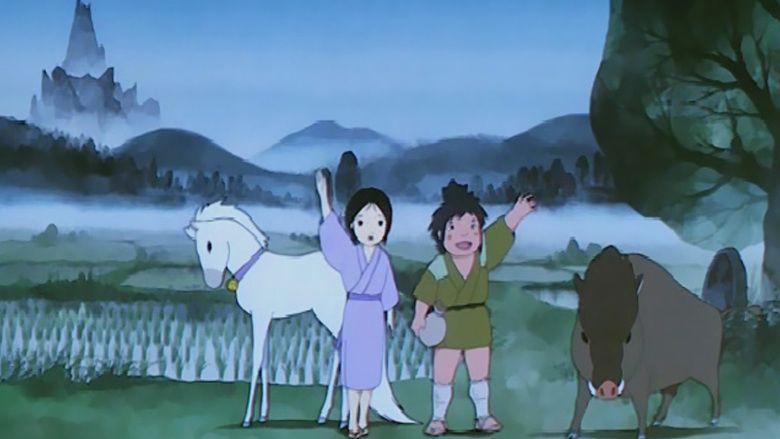Tatsu no ko Taro movie scenes