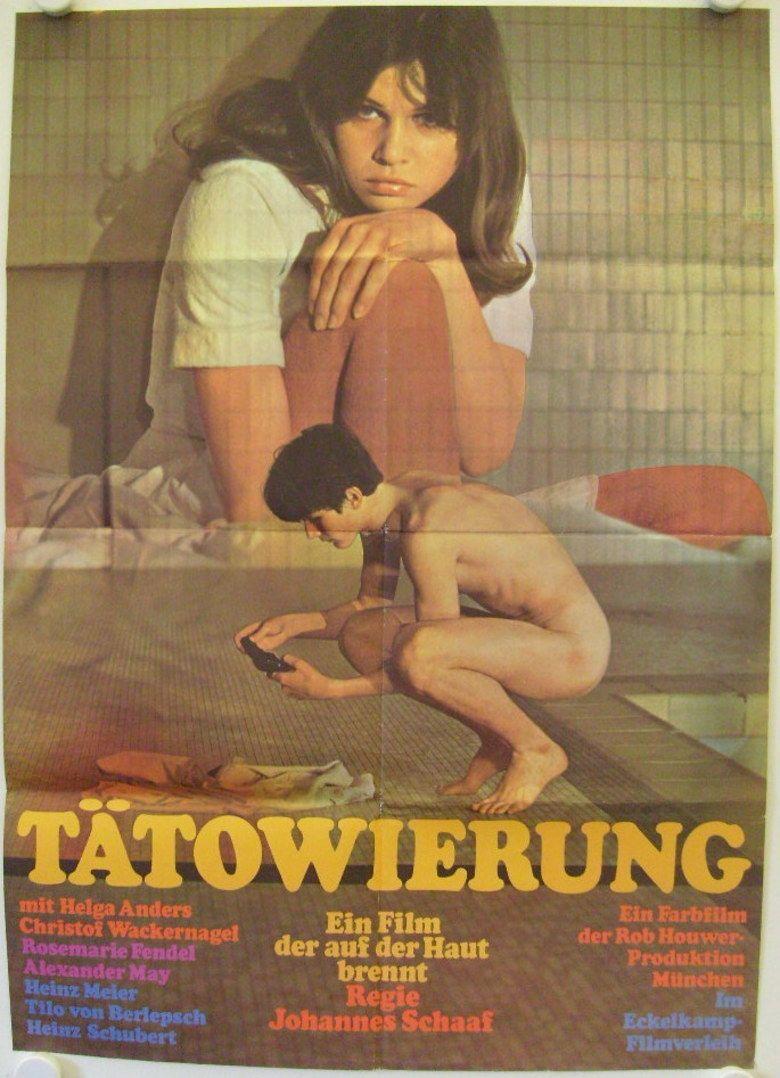 Tattoo (1967 film) movie poster