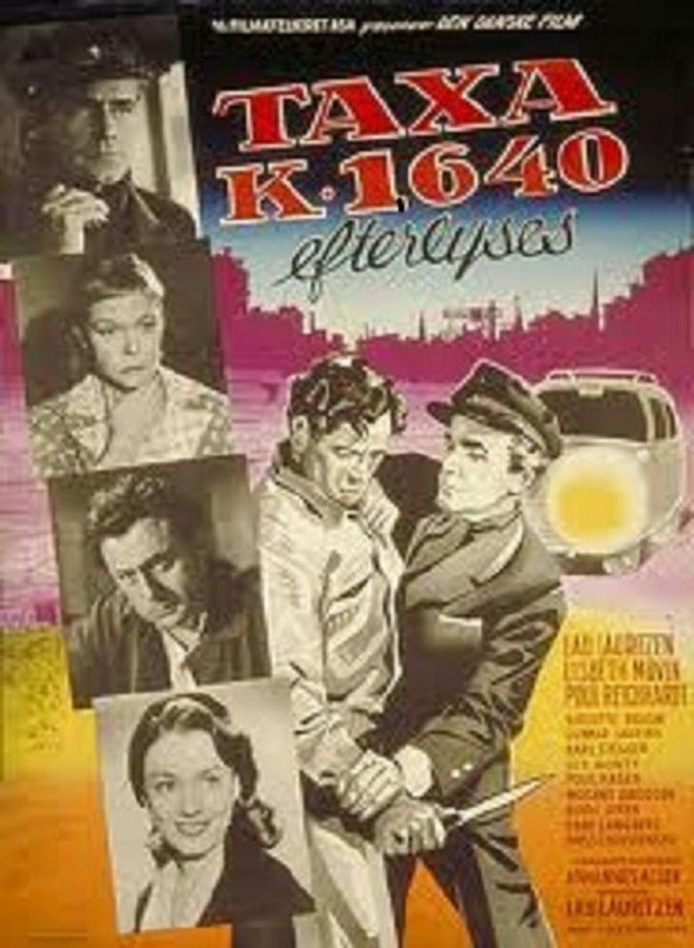 Taxa K 1640 efterlyses movie poster