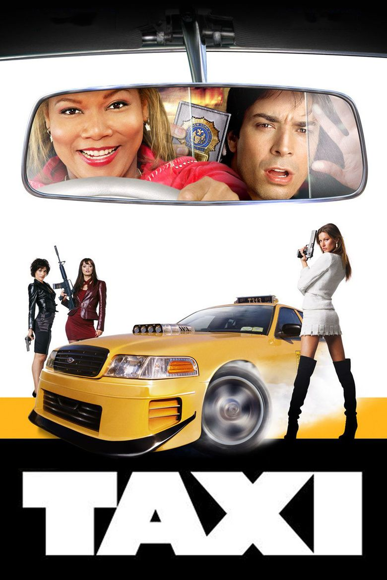 Taxi (2004 film) movie poster