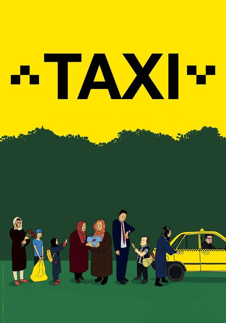 Taxi (2015 film) movie poster