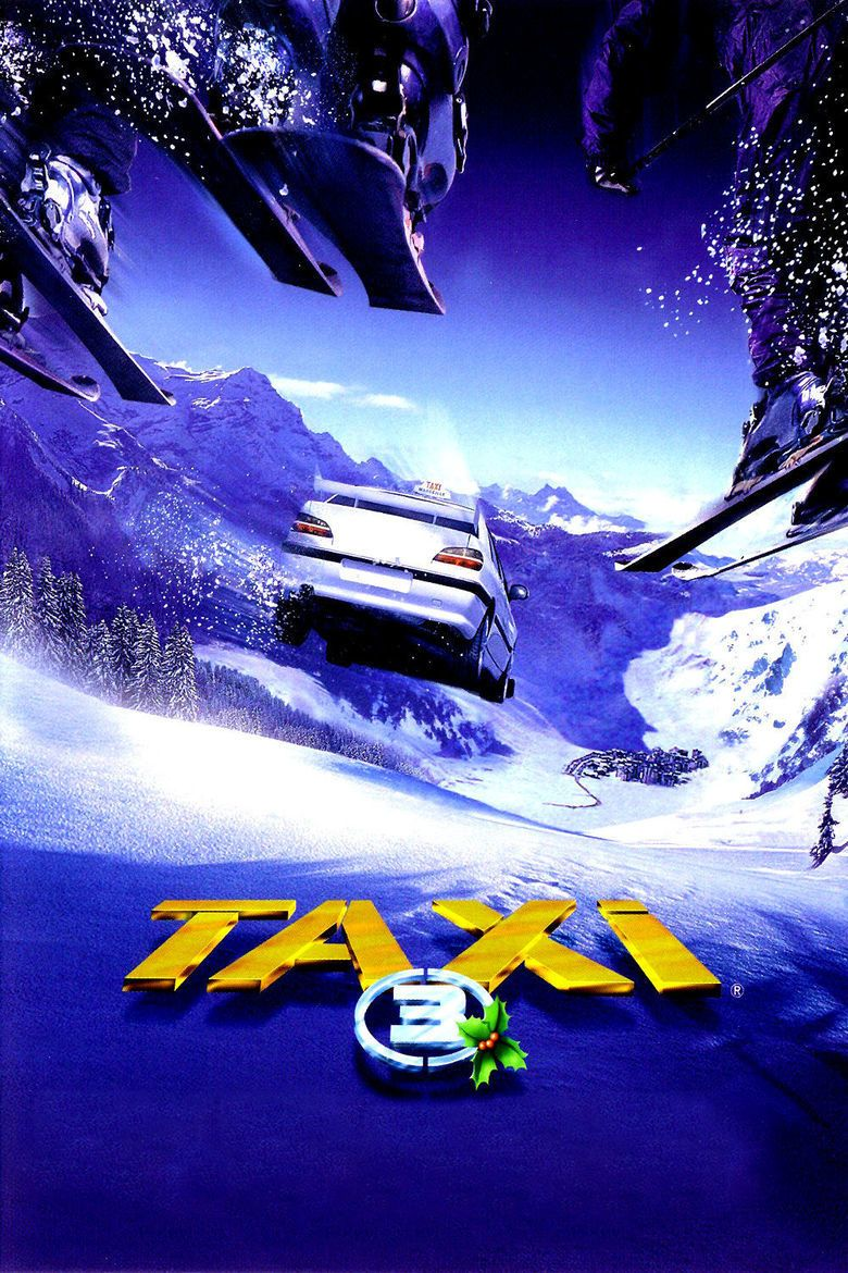 Taxi 3 movie poster
