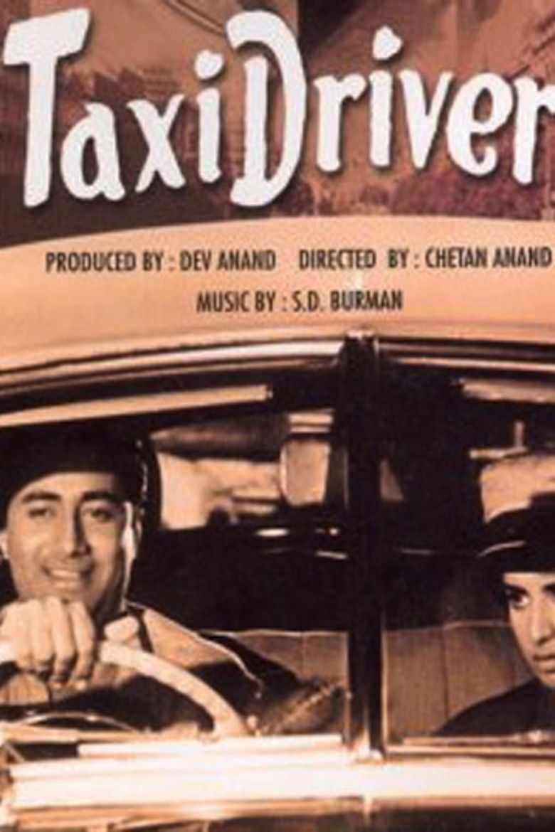 Taxi Driver (1954 film) movie poster