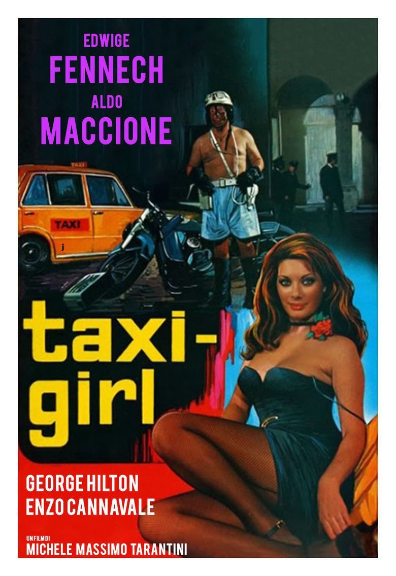 Taxi Girl (film) movie poster